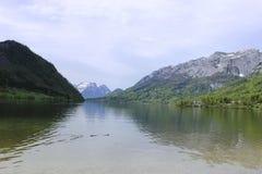 Österrike lake Royaltyfria Bilder