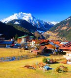 Österrike mayrhofen Royaltyfri Foto