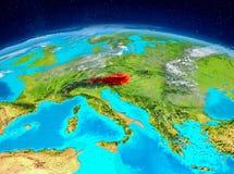 Österrike på jord Royaltyfri Foto