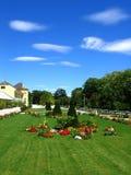 Österrike park royaltyfri bild