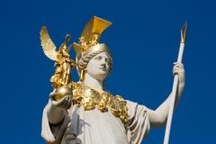 Österrike parlament vienna Arkivbilder