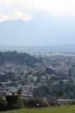 Österrike Salzburg, år 2011 Arkivfoto