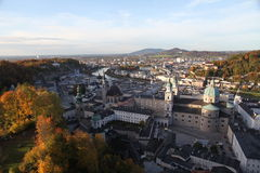 Österrike salzburg Fotografering för Bildbyråer