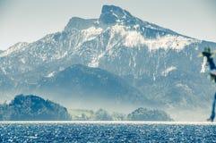 Österrike sjö Arkivfoto