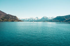 Österrike sjö Royaltyfri Bild