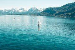 Österrike sjö Fotografering för Bildbyråer