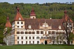 Österrike slotteggenberg graz Arkivbild