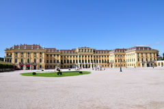 Österrike slottschonbrunn vienna Royaltyfri Bild