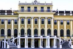 Österrike slottschonbrunn vienna Royaltyfria Foton