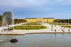 Österrike slottschonbrunn vienna Arkivbild