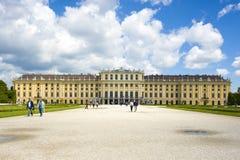 Österrike slottschonbrunn vienna Royaltyfri Foto