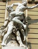 Österrike staty vienna Royaltyfri Fotografi