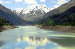 Österrike Tirol, Kaunertal Fotografering för Bildbyråer