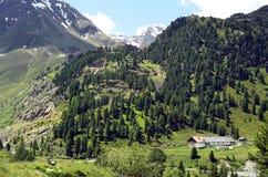 Österrike Tirol, Kaunertal Royaltyfria Foton