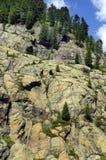Österrike Tirol, Kaunertal Royaltyfria Bilder