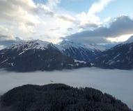 Österrike Tirol, Mayrhofen Royaltyfri Fotografi