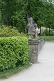 Österrike trädgårds- mirabell Royaltyfri Fotografi