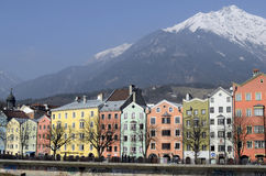 Österrike Tyrol, Innsbruck Royaltyfri Fotografi