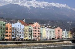Österrike Tyrol, Innsbruck Arkivbilder