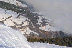 Österrike vinter Royaltyfria Foton