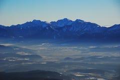 Österrike vinter Arkivbild
