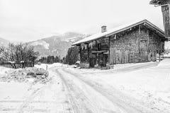 Österrike vinter Royaltyfri Fotografi