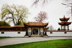 Österrike Wien, 10 mars 2016: Den kinesiska restaurangen i centret Arkivbilder