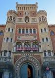 Österrike Wien, museum av det Heeresgeschichtliches för militär historia museet royaltyfria bilder