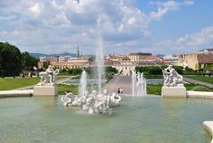 Österrike Wien stad av legender och gåtor Arkivfoto
