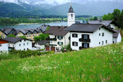 Österrike wolfgang royaltyfri fotografi
