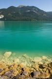 Österrike wolfgangsee arkivfoto