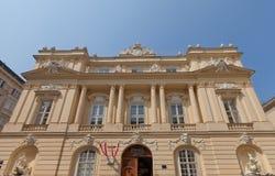 Österrikisk akademi av vetenskaper (1755) i Wien, Österrike royaltyfri bild
