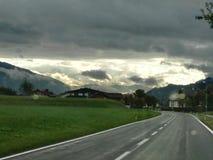Österrikisk himmel Arkivfoton