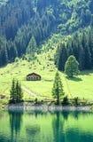 österrikisk lake Arkivfoto