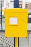 Österrikisk postbox Arkivbild