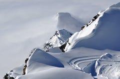 österrikisk siktsvinter för alps Arkivfoto