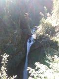Österrikisk vattenfall Fotografering för Bildbyråer