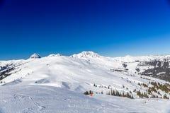 Österrikisk vinter Royaltyfri Bild