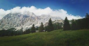 österrikiska alps Arkivbilder