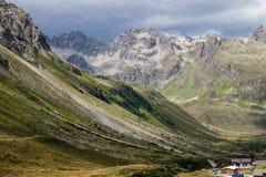 österrikiska alps Royaltyfria Foton