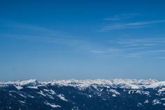 österrikiska alps Royaltyfri Foto