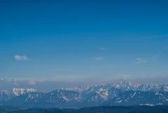 österrikiska alps royaltyfri fotografi