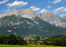 Österrikiska alps, Berchtesgaden Royaltyfria Foton