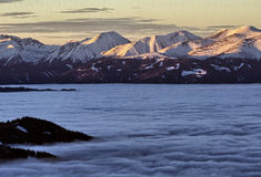 österrikiska berg arkivfoto