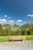österrikiska berg Arkivfoton