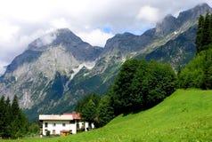 österrikiska berg Royaltyfri Foto