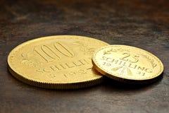 Österrikiska guld- mynt Royaltyfri Foto