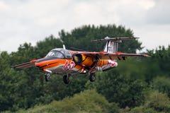 Österrikiskt flygplan för instruktör för flygvapenÃ-sterreichische Luftstreitkräfte Saab 105 stråle Arkivfoton
