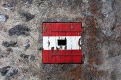 Österrikiskt slottfönster. Royaltyfria Bilder
