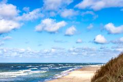 Östersjön Costline arkivbild